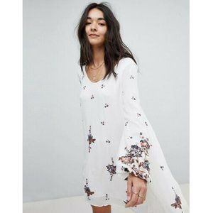 Free People Oxford Floral Shift Dress XS/S US